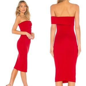 x Revolve Audrey Dress in Red
